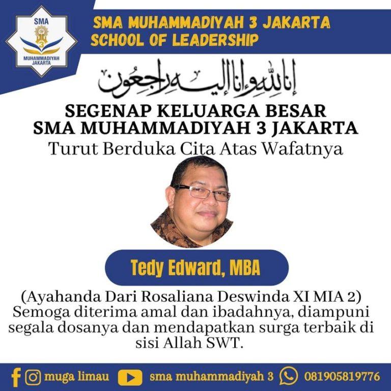 Keluarga Besar SMA Muhammadiyah 3 Jakarta Berduka Cita